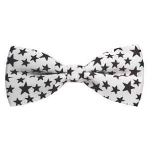 Corbatín Estrellas Blanco