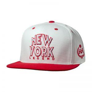 Snapback Niño DoubleAA Premium New York Legend Blanco