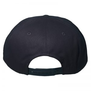 Snapback DoubleAA Premium New York Brooklyn Negro Azulado