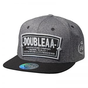 Snapback DoubleAA Premium Billboard Gris