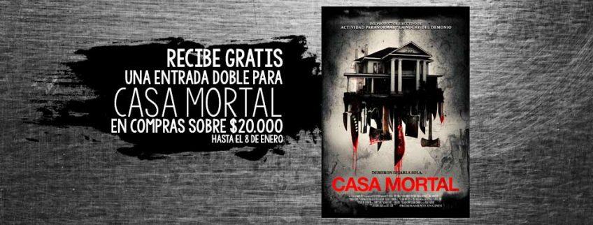 """Te Regalamos Entradas para """"Casa Mortal"""""""