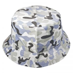Gorro Bucket Get Out Camuflado Blanco