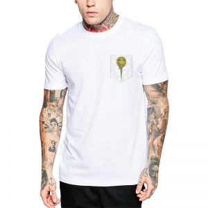 Polera GoT Hand Of The King Blanca Get Out