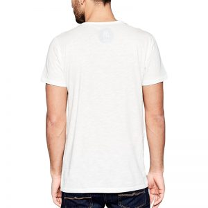 Polera Stranger Upside Down Blanca Get Out