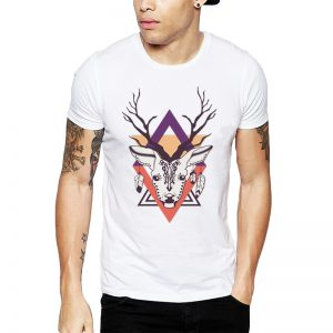 Polera Ethnic Deer Blanca Get Out