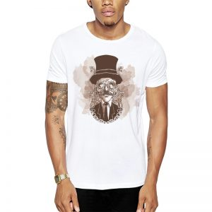 Polera Steampunk Visionary Blanca Get Out