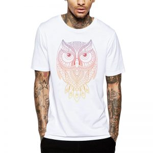 Polera The Owl Blanca Get Out