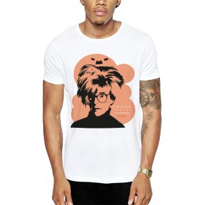 Polera Andy Warhol Blanca Get Out
