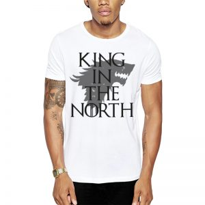 Polera GoT King In The North Blanca Get Out