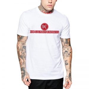 Polera Harry Potter Hogwarts Express Blanca Get Out