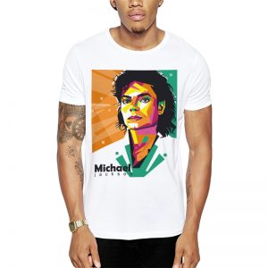 Polera Michael Jackson Pop Blanca Get Out