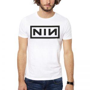 Polera Nine Inch Nails NIN Blanca Get Out