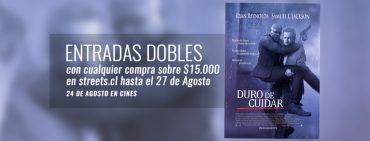 """Promoción: Entradas Dobles Para Ver """"Duro De Cuidar"""" Gratis"""