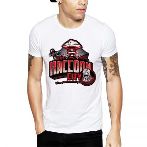 Polera Resident Evil Greetings From Raccoon City Blanca Get Out