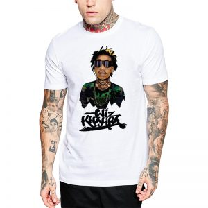 Polera Wiz Khalifa Signed Blanca Get Out