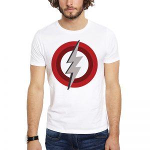 Polera Pearl Jam Lightning Bolt Blanca Get Out
