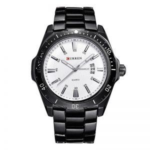 Reloj Negro y Blanco 8110 Curren