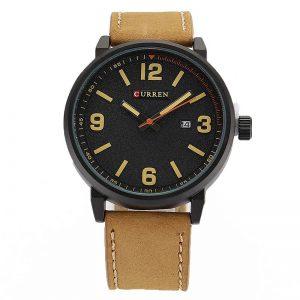Reloj Café y Negro 8218 Curren