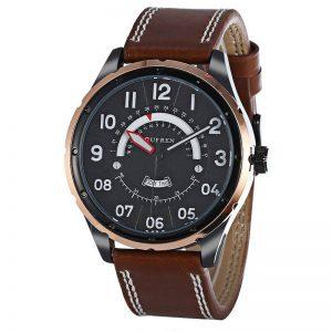 Reloj Café y Negro 8267 Curren