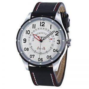 Reloj Negro y Blanco 8267 Curren
