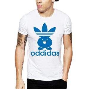 Polera Pokemon Oddidas Blanca Get Out