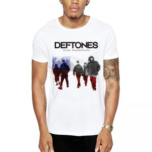 Polera Deftones Concierto Chile 2018 Get Out