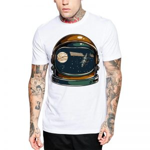 Polera Cosmic View Blanca Get Out