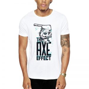Polera The Axe Effect Blanca Get Out