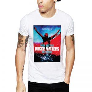 Polera Roger Waters Concierto Chile 2018 Blanca Get Out