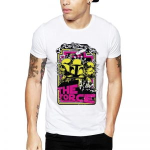 Polera Feel The Force Blanca Get Out