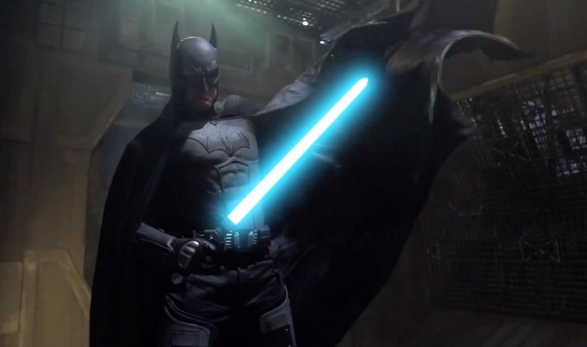 La pelea a muerte entre Batman y Darth Vader