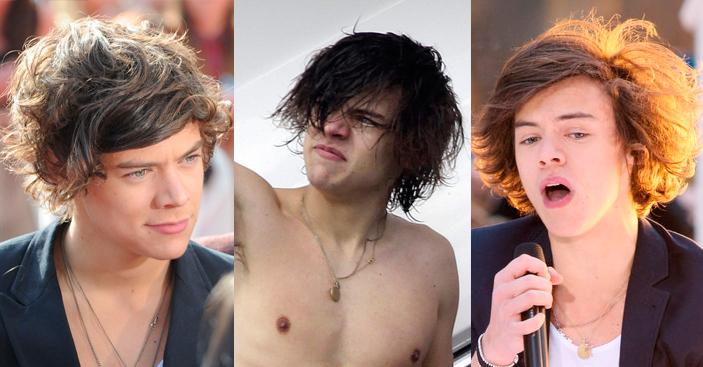 19 veces que el cabello de Harry Styles pidió ayuda a gritos