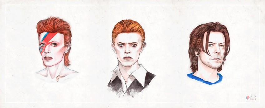50 años de David Bowie en 5 segundos