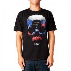 Polera Fox Dark Deed Negra