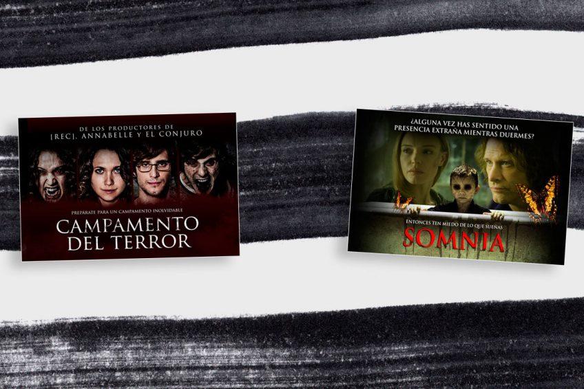 ¡Gratis! Entradas dobles al cine; Tú eliges entre estas dos películas