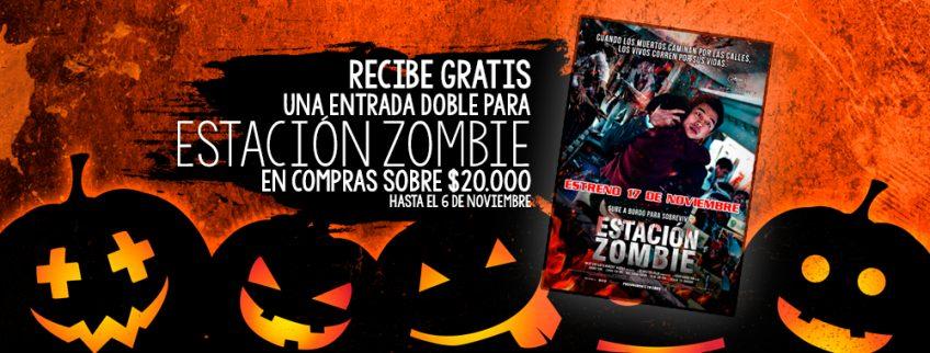 "¡Gratis! Entradas Dobles Para ""Estación Zombie"""