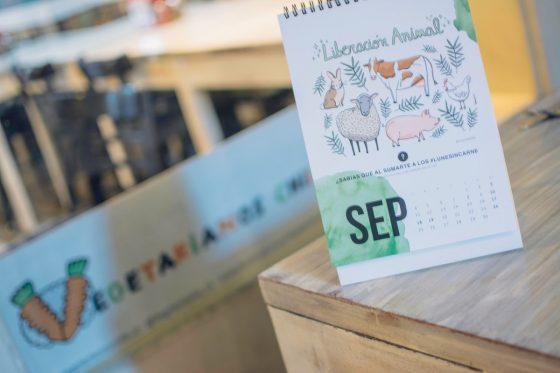 Obtén tu calendario de Vegetarianos Chile