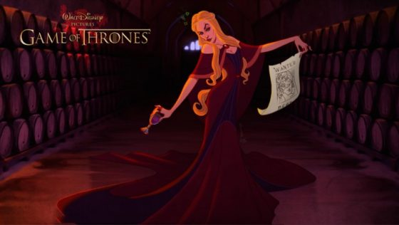 Personajes De Juego De Tronos Como Si Fueran De Disney