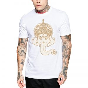 Polera Ganesha Crown Blanca Get Out
