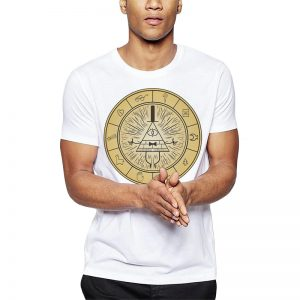 Polera Gravity Bill Cipher Blanca Get Out