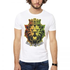 Polera Lion Of Judah Blanca Get Out