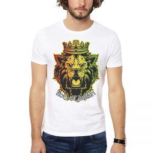 Polera Lion Of Judah Blanca Get Out