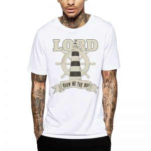 Polera Lord Show Me The Way Blanca Get Out