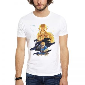 Polera Zelda And Link Blanca Get Out