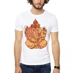 Polera Ganesha Stain Blanca Get Out