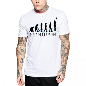 Polera Evolution Básquetbol Blanca Get Out