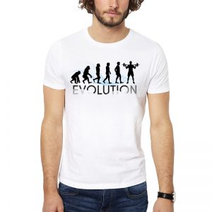 Polera Evolution Crossfit Blanca Get Out