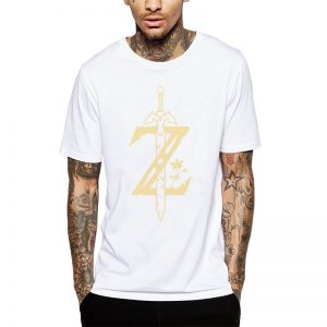 Polera Zelda Sword Blanca Get Out