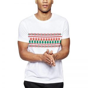 Polera Christmas Tree Ugly Sweater Blanca Get Out