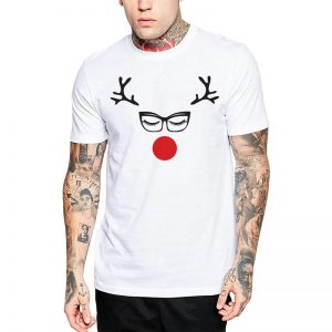 Polera Hipster Rudolph Blanca Get Out